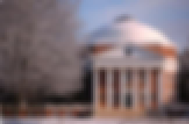 University of Virginia is listed (or ranked) 12 on the list The Most Beautiful College Campuses