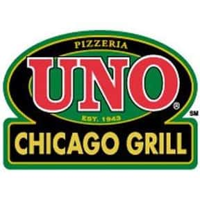 Uno Chicago Grill is listed (or ranked) 24 on the list The Best Bar & Grill Restaurant Chains