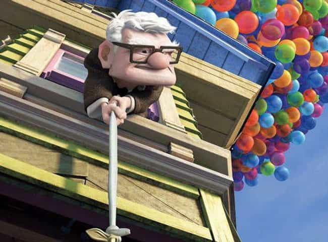 Up is listed (or ranked) 1 on the list 14 Animated Films That Were Better Than That Year's Best Picture Oscar Winner