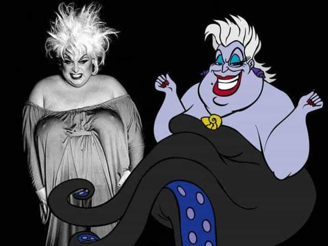 Ursula is listed (or ranked) 3 on the list Famous Cartoon Characters Whose Appearances Were Based On Real People