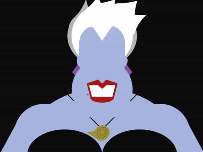 Ursula is listed (or ranked) 3 on the list 20 Pieces Of Amazing Minimalist Fan Art That Real Fans Will Recognize In An Instant