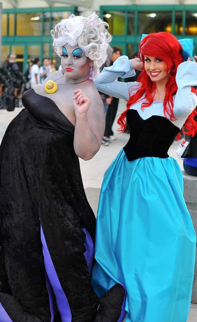 Ursula Is Listed Or Ranked 2 On The List Plus Size Cosplay Costume Ideas