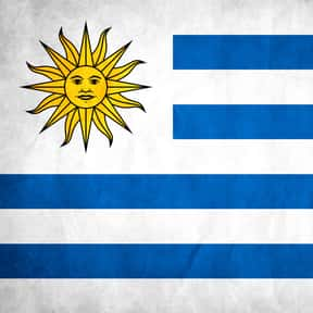 Uruguay is listed (or ranked) 21 on the list The Prettiest Flags in the World
