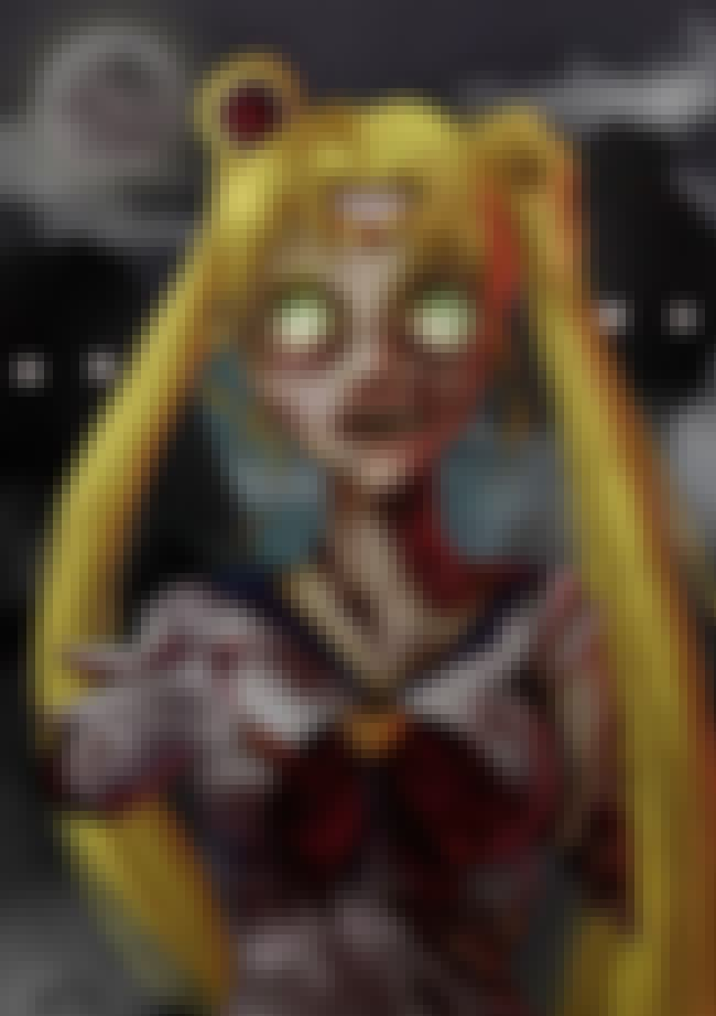 Sailor Moon is listed (or ranked) 2 on the list 14 Zombie Versions Of Your Favorite Characters Are Both Spooky And Satisfying