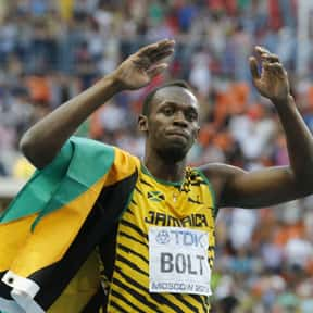 Usain Bolt is listed (or ranked) 8 on the list The Best Athletes Of All Time