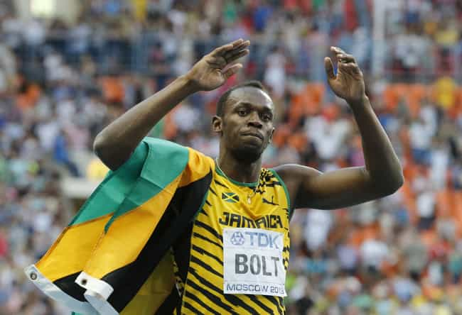 Usain Bolt is listed (or ranked) 1 on the list List of Famous Runners