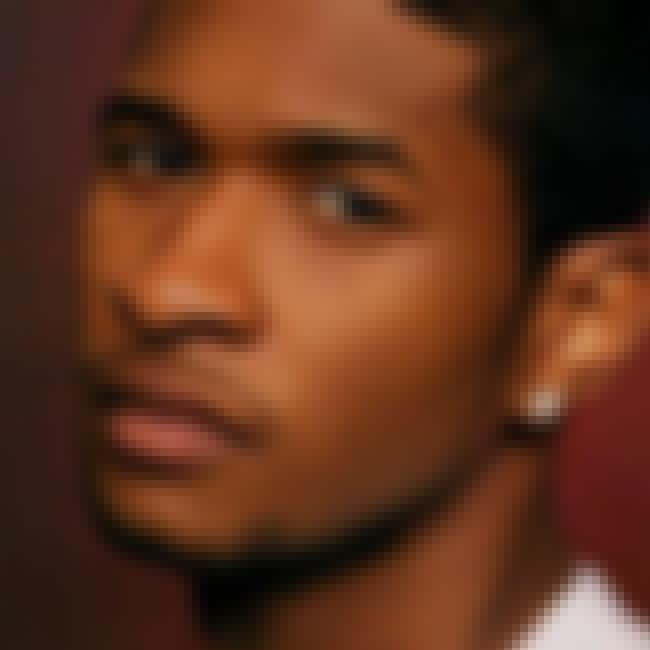 Usher is listed (or ranked) 4 on the list Karinne Steffans' Loves & Hookups
