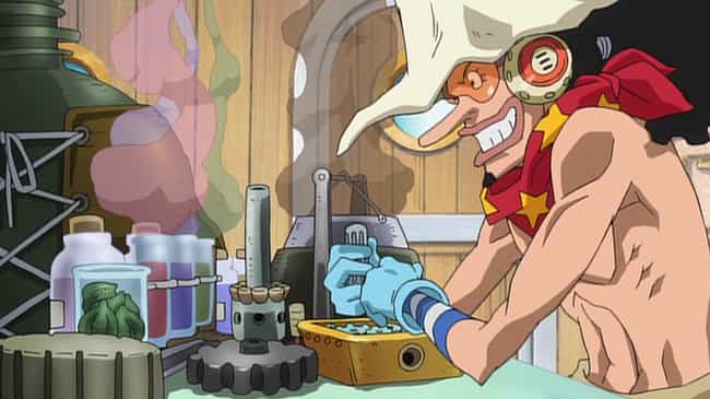 Usopp is listed (or ranked) 3 on the list Which 'One Piece' Character Are You, Based On Your Zodiac Sign?