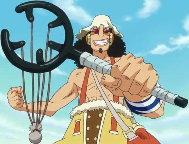 Usopp is listed (or ranked) 4 on the list 15 Times Anime Characters Came Back Stronger Than Before
