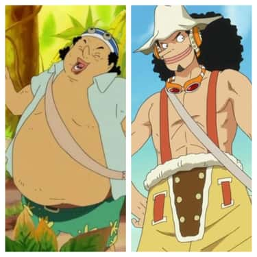 Usopp - 'One Piece' is listed (or ranked) 2 on the list 13 Anime Characters Who Lost A Ton Of Weight