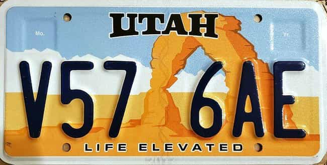 Utah is listed (or ranked) 4 on the list Every State License Plate Design, Ranked By How Much You Wish It Was On Your Ride