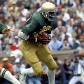 Vagas Ferguson is listed (or ranked) 10 on the list The Best Notre Dame Fighting Irish Running Backs of All Time