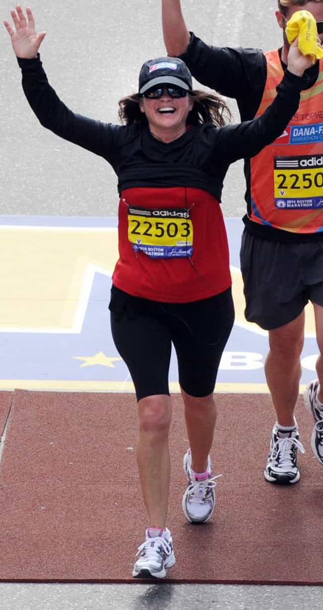 Valerie Bertinelli is listed (or ranked) 3 on the list 11 Celebrities Who Ran the Boston Marathon