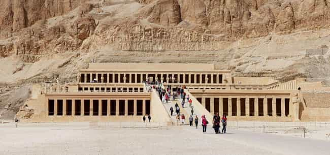 Valley of the Kings is listed (or ranked) 3 on the list Real Mythological Places You Can Visit
