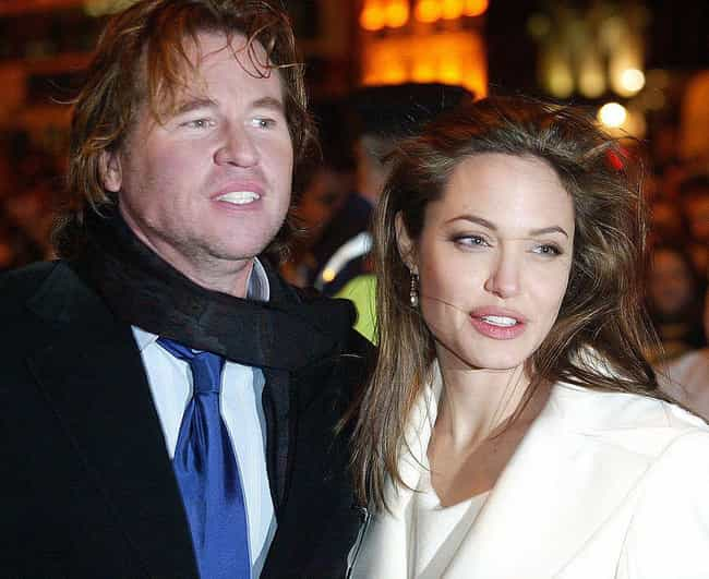 Val Kilmer is listed (or ranked) 3 on the list Angelina Jolie's Loves & Hookups