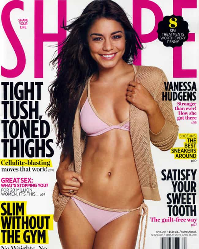 Vanessa Hudgens is listed (or ranked) 3 on the list Female Celebrities with the Sexiest Abs