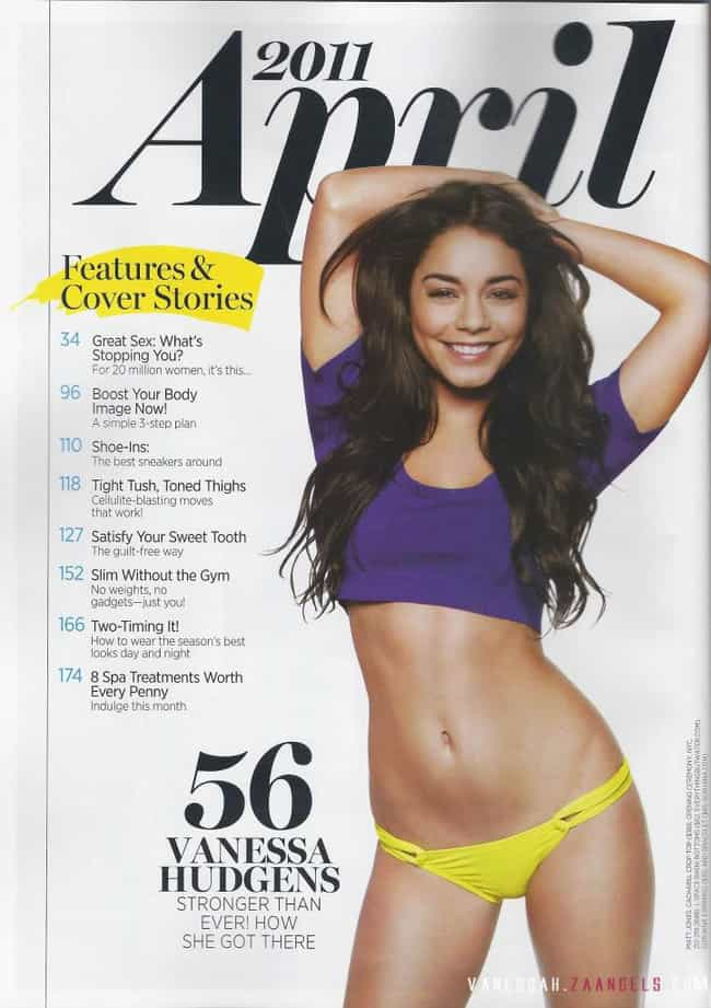 Vanessa Hudgens is listed (or ranked) 4 on the list 21 Celebrities Who Do CrossFit