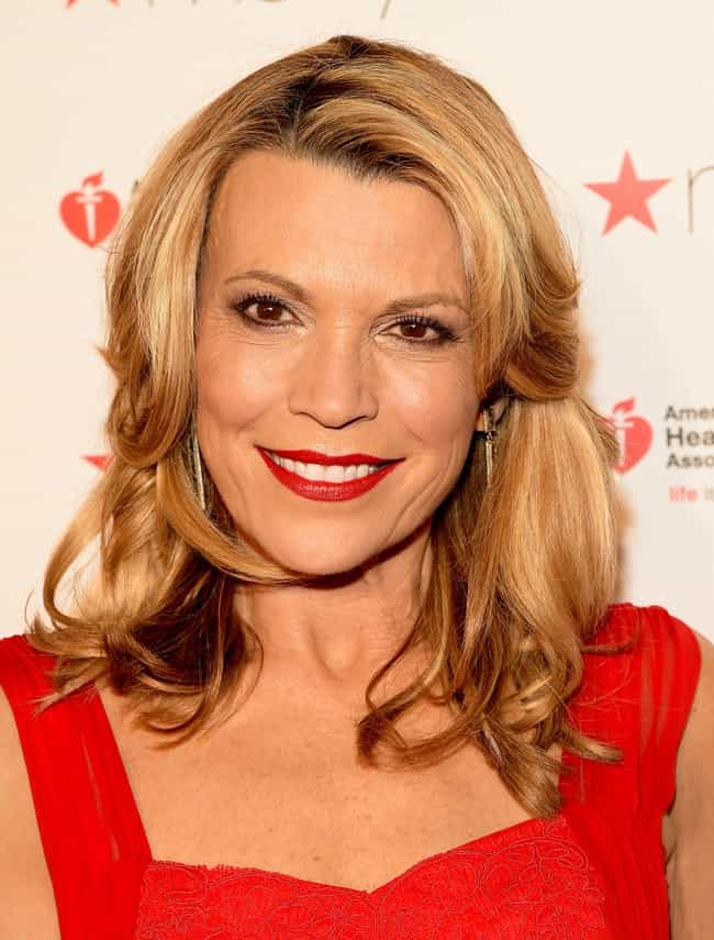 Vanna White is listed (or ranked) 4 on the list The Hottest Babes of the 80s