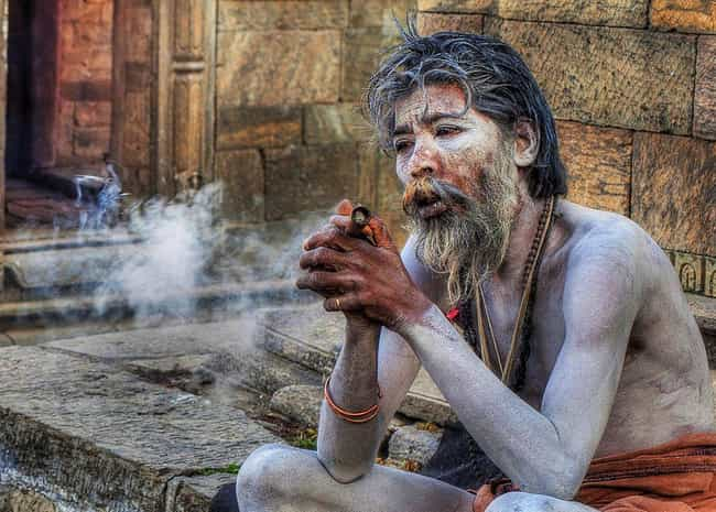 Varanasi is listed (or ranked) 1 on the list 10 Places Where It's Not Considered Weird To Be A Cannibal