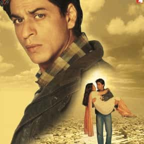 Veer-Zaara is listed (or ranked) 7 on the list The Best Shah Rukh Khan Movies