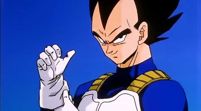 vegeta is listed or ranked 1 on the list which dragon ball character are