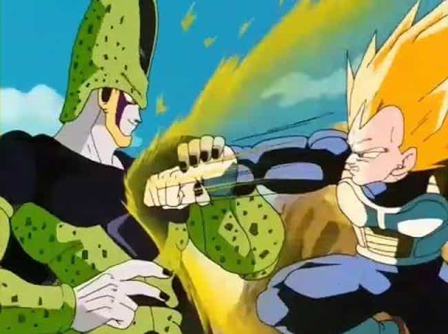 Vegeta is listed (or ranked) 1 on the list 14 Terrible Decisions Made By Anime Characters