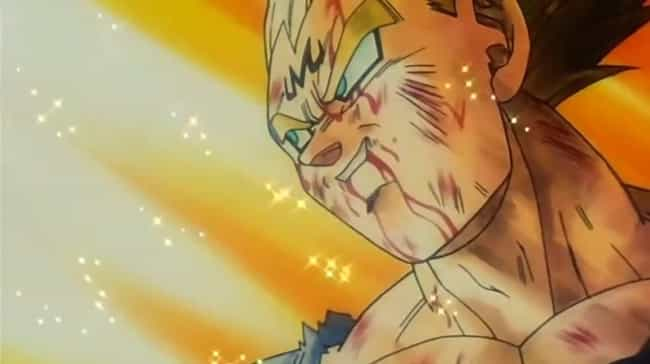 Vegeta is listed (or ranked) 3 on the list The 16 Most Heroic Anime Sacrifices Of All Time