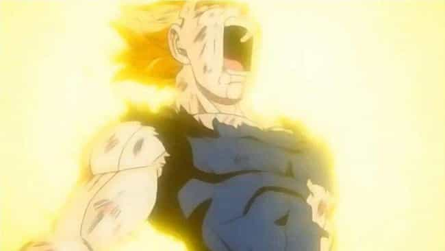 Vegeta is listed (or ranked) 2 on the list 13 Anime Sacrifices That Were Done In Vain
