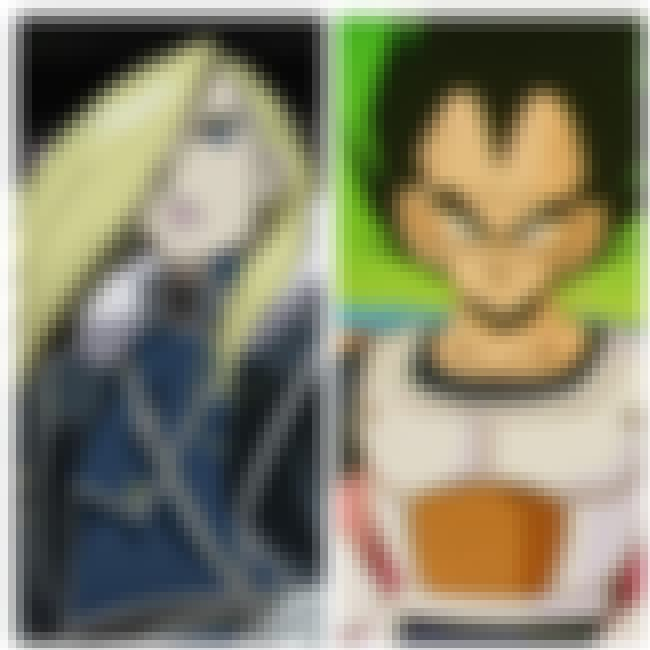 Vegeta is listed (or ranked) 1 on the list 14 Cross-Series Anime Ships That Would Be So Good Together
