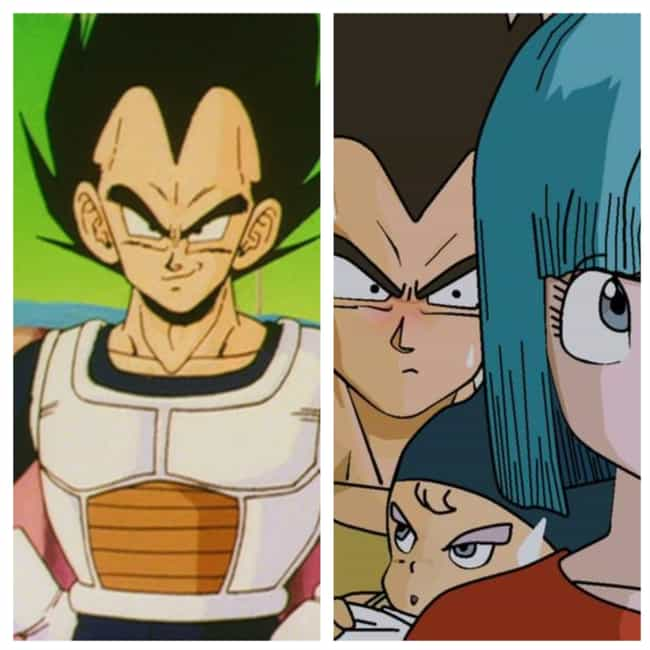 Vegeta is listed (or ranked) 1 on the list 14 Anime Characters With The Best Character Development