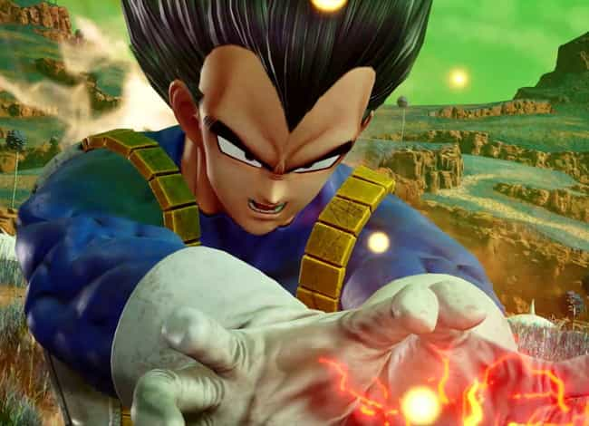Vegeta is listed (or ranked) 3 on the list The Best 'Jump Force' Characters