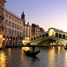Venice is listed (or ranked) 1 on the list The Best Honeymoon Destinations
