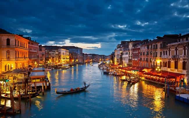 Venice is listed (or ranked) 3 on the list The Most Beautiful Cities in the World