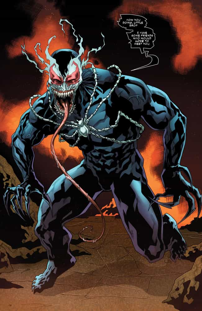 Venom 2099 is listed (or ranked) 2 on the list Most Violent And Twisted Incarnations Of Venom in Comic Book History