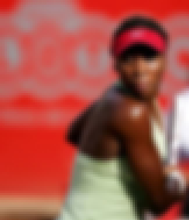 Venus Williams is listed (or ranked) 8 on the list Famous Friends of Serena Williams