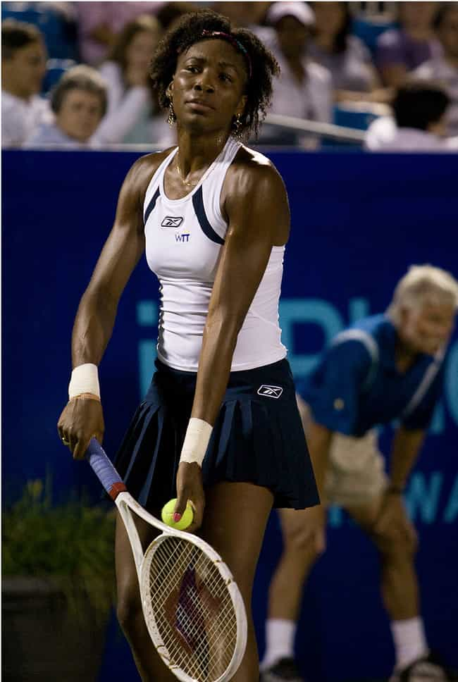 Venus Williams is listed (or ranked) 2 on the list 11 Athletes Who Are Jehovah's Witnesses