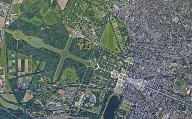 20 Amazing Google Satellite Images Of Famous Places Around The World