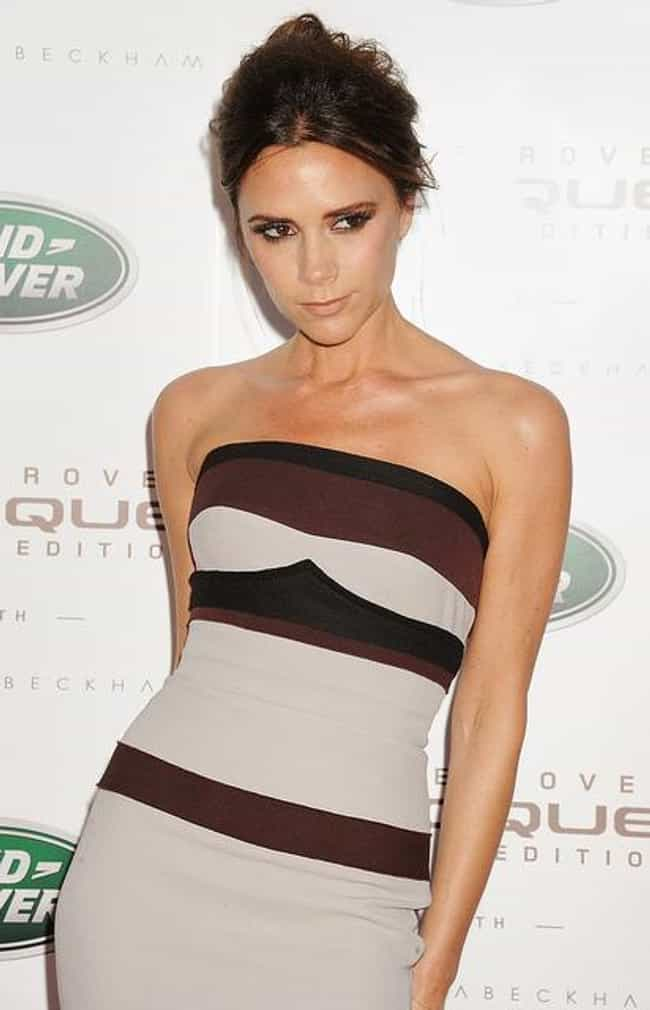 Victoria Beckham is listed (or ranked) 4 on the list Celebrities Who Had Weird Jobs Before They Were Famous