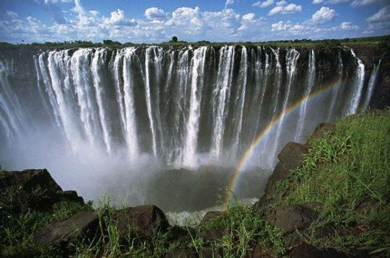 Victoria Falls is listed (or ranked) 2 on the list The Most Stunningly Gorgeous Places on Earth