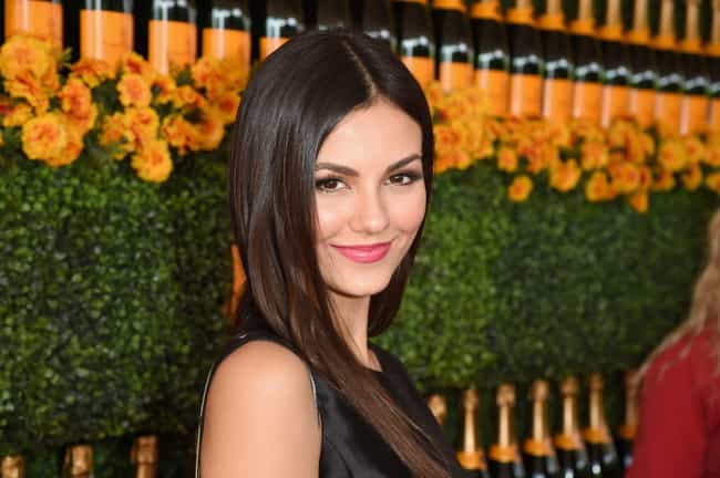 Victoria Justice is listed (or ranked) 4 on the list The Hottest Models Who Are Actresses