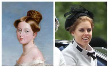 Queen Victoria And Great-Great-Great-Great-Granddaughter Princess Beatrice