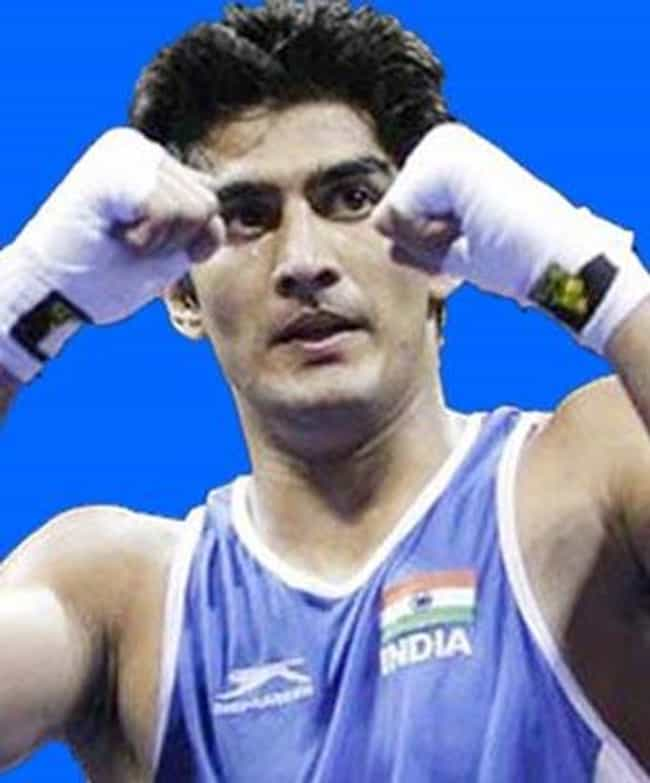 Vijender Singh is listed (or ranked) 2 on the list Famous Boxers from India