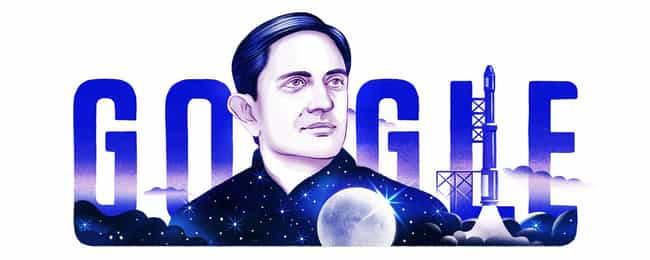 Vikram Sarabhai is listed (or ranked) 1191 on the list Every Person Who Has Been Immortalized in a Google Doodle