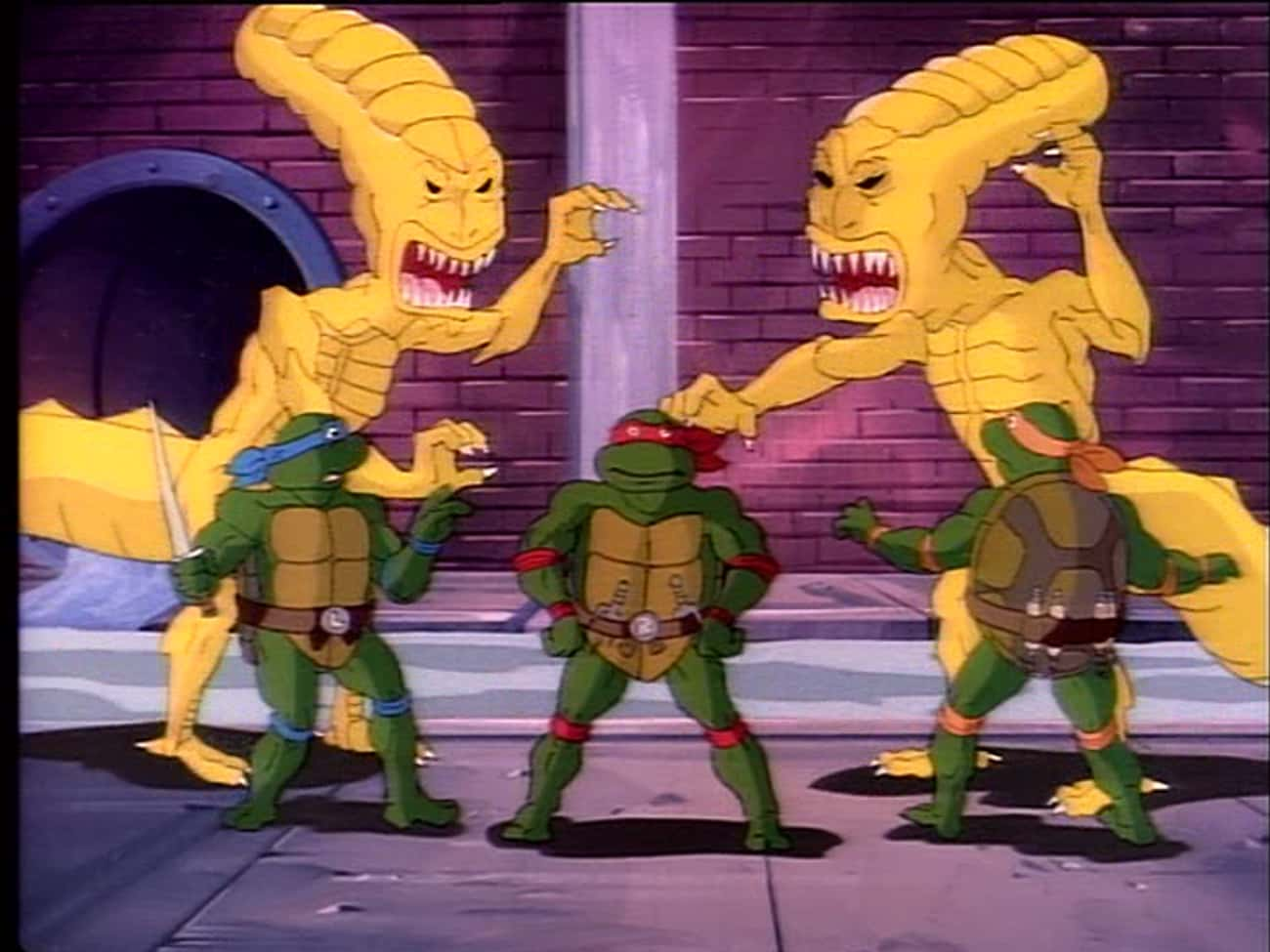 The Case of the Killer Pizzas is listed (or ranked) 3 on the list Teenage Mutant Ninja Turtles Episodes That Are Even Weirder Than You Remember