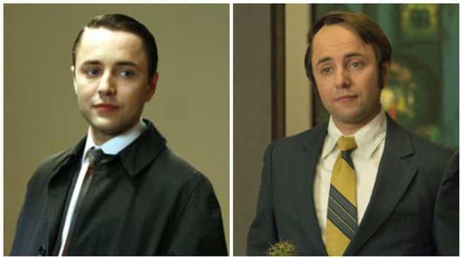 Vincent Kartheiser is listed (or ranked) 4 on the list How the Cast of Mad Men Aged from the First to Last Season