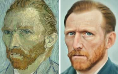 Vincent van Gogh is listed (or ranked) 1 on the list What 15 Historical Figures Really Looked Like According To A.I.