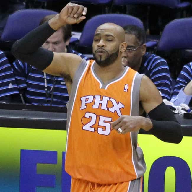 Vince Carter is listed (or ranked) 1 on the list The Best Athletes Who Wore #25