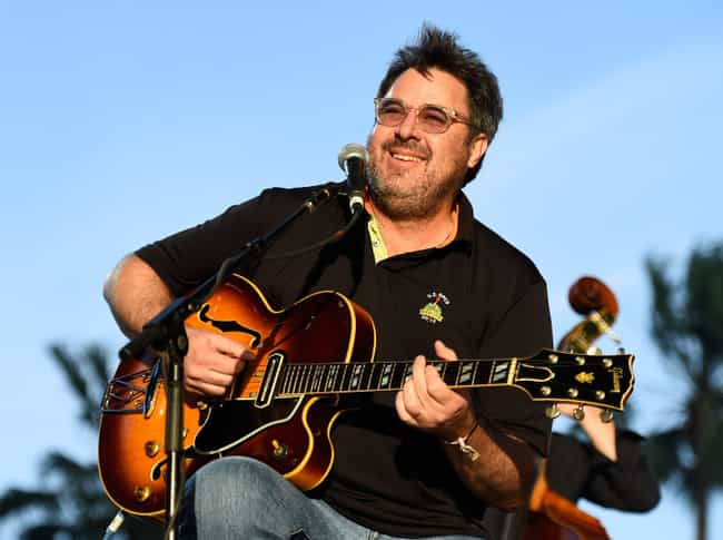 Vince Gill is listed (or ranked) 1 on the list Famous Guitarists from Oklahoma