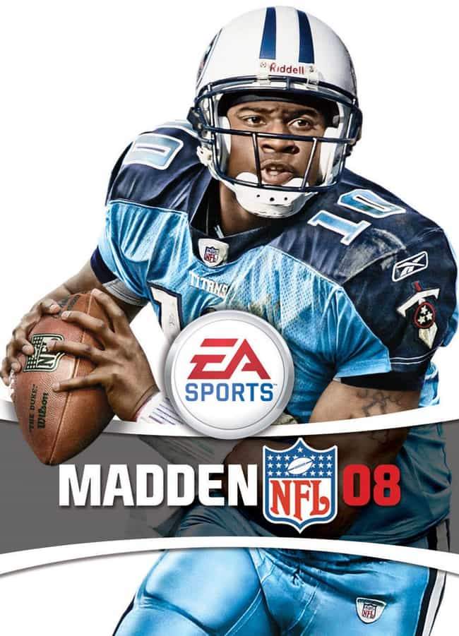 Vince Young is listed (or ranked) 2 on the list The Worst Cases of the Madden Curse That'll Make You Believe
