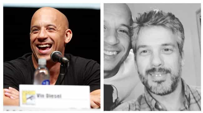 Vin Diesel is listed (or ranked) 3 on the list Side-By-Side Photos Of Celebrities And Their Siblings You've Never Seen Before